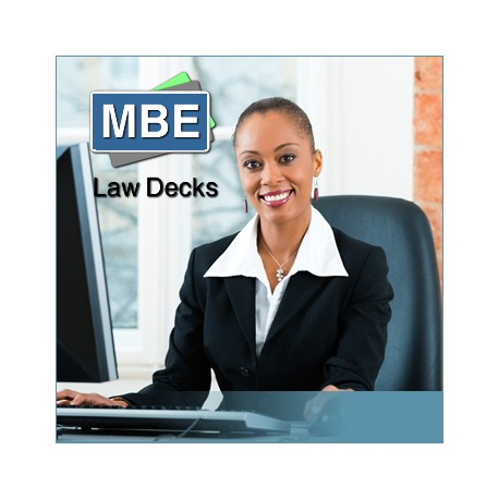 MBE Law Decks - Faculty Review